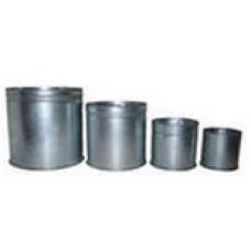 Комплект мерных металлических сосудов (5, 10, 20, 50 л) КП 601/4