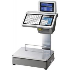 Весы торговые с печатью этикеток CL5000-6D