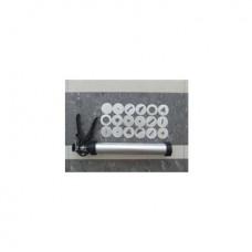 Экструдер для глины ручной, 18 насадок, 32,5 см DK11048