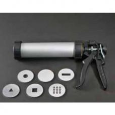 Экструдер для глины ручной, 6 алюм. насадок HEX-65