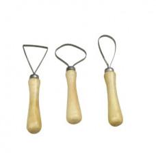 Набор стеков-петля 3 шт. SFT015, односторонние, крупные с зубчиками 20 см