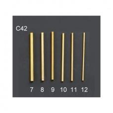 """Набор инструментов (стальных) для вырезания отверстий, 8"""" (12 шт.) С42"""