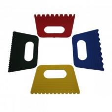 Набор скребков (циклей пластиковых), 4 шт. DK11421