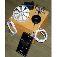 Анемометр цифровой АП-1М-1 (электронный крыльчатый) с аккумуляторами