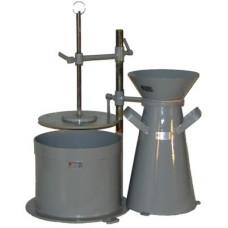 Прибор для определения жесткости бетонной смеси ВБ-1
