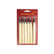 Набор резаков, ручка дерев, 5 шт. DK11275