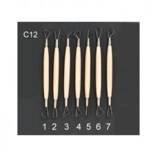 Набор стеков-петля, 7 шт/наб, двусторонние, CGC-12