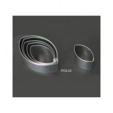Набор форм металлических (миндаль) для выдавливания глины (6 шт.) PCS-23