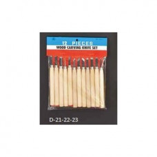 Набор резцов с деревянной ручкой, 5 шт C50-D21
