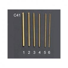 """Набор инструментов (стальных) для вырезания отверстий, 8"""" (6 шт.) С41"""