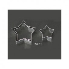 Набор форм металлических (звезда) для выдавливания глины (3 шт.) PCS-11