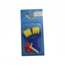 Набор валиков (фигурные 2 шт., кисти порол 2 шт) DK12527