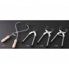 Щипцы для глазурования с деревянными ручками CGC-64A
